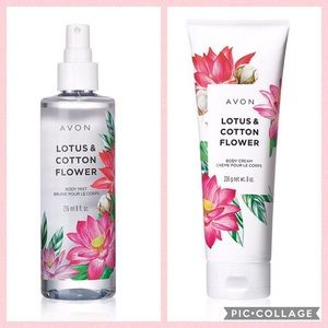 Set: Body Lotion & Body Spray NEW from Avon